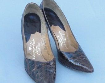 Vintage 1950s JACQUES HEIM High Heels