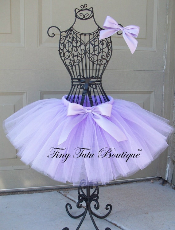 Lovely Lavender- Lavender baby/child tutu with FREE hairbow- 2T/3T, 4T/5T