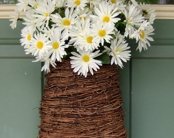 Spring Wreath - Spring Daisy Wreath - Daisy Frontdoor Wreath