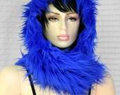 Cool in Blue Hoodie Hat