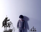 Vinyl Wall Decal Sticker Pirate Ships  GFoster125s