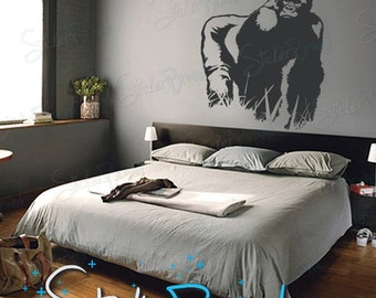 Vinyl Wall Art Decal Sticker Gorilla 460