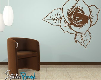 Vinyl Wall Decal Sticker Flower1   Item805B