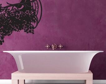 Vinyl Wall Decal Sticker Floral Fantasy Balcony 74inX36in GFoster164
