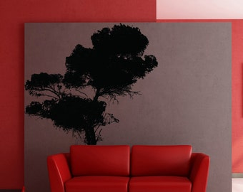 Vinyl Wall Decal Sticker Tree 856B