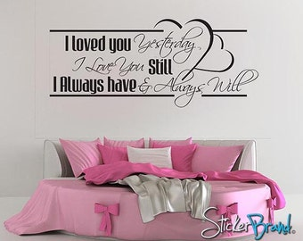 Vinyl Wall Decal Sticker Love Quotes item BHuey118s
