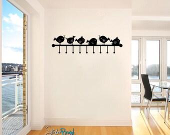 Vinyl Wall Decal Sticker Bird Wall Hook item OSMG156