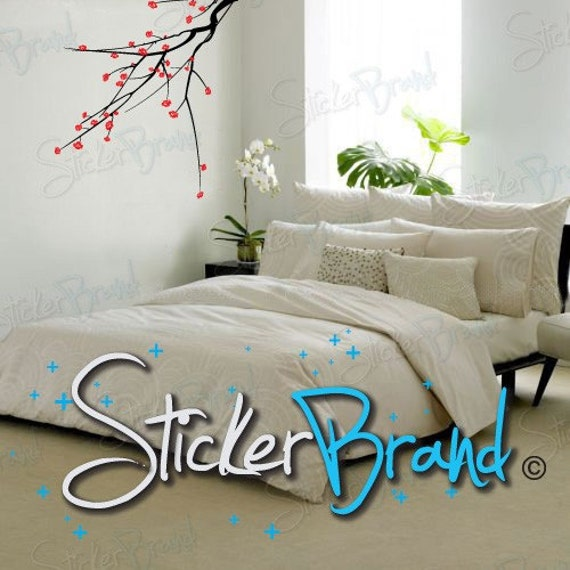 Vinyl Wall Decal Sticker Blossom Branch 723