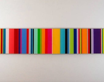 dancing color modern wall sculpture