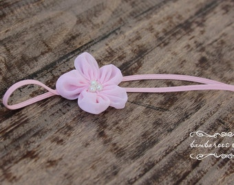 baby headband, newborn headbands, chiffon headband, infant headband,  photo prop