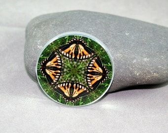 Butterfly Magnet Boho Chic Mandala New Age Sacred Geometry Hippie Kaleidoscope Wind Whisperer