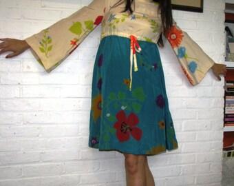 Vintage Designer Leo Narducci Mod Swing Dress Baby Doll Swing
