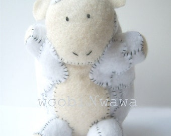 Beep the Sheep- Felt Animals