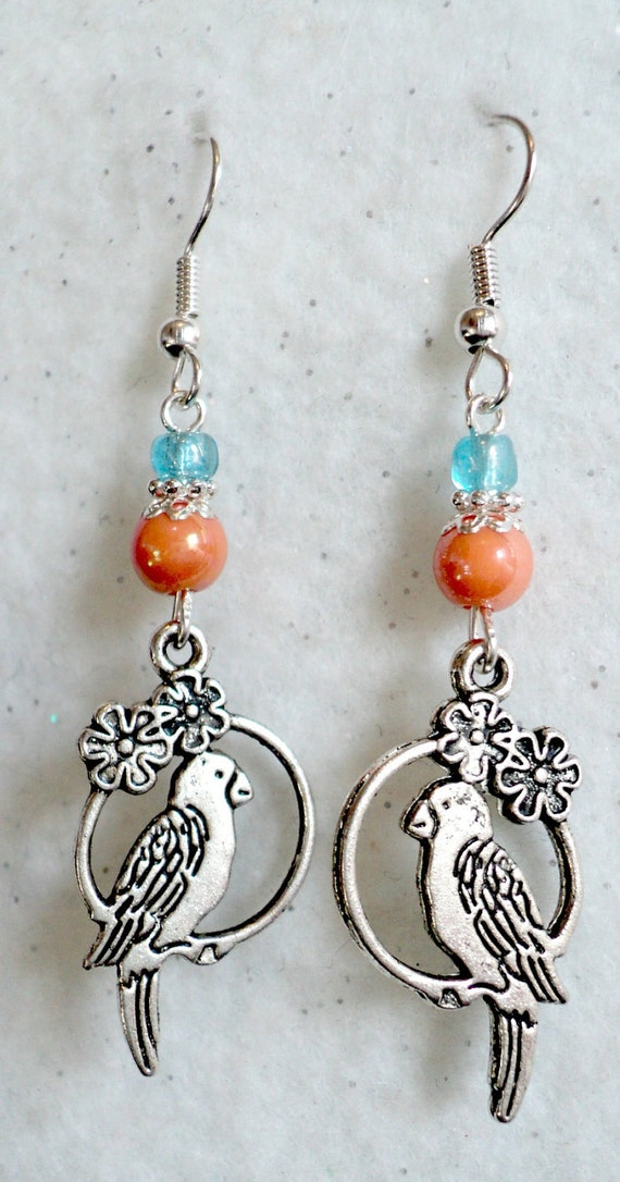 Tropical Paradise Dangle Earrings