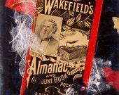 Mixed Media Collage Original Art from Vintage 1900s Pharmaceutical Ephemera