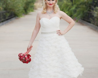 Short Wedding Dress - Sherry Darling