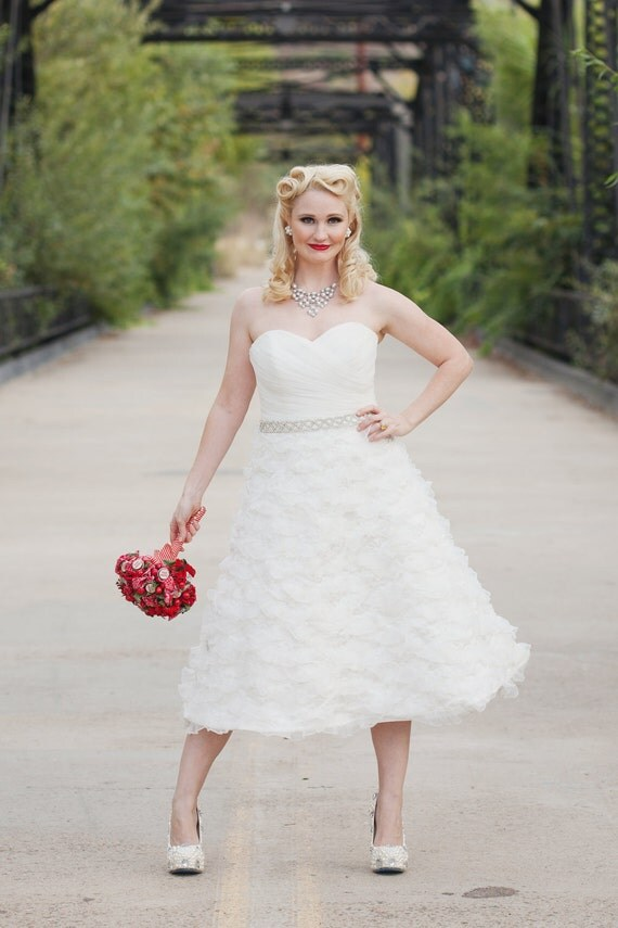 Short Wedding Dress - Sherry Darling