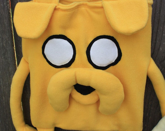 Adventure Time with Jake- Plush Tote Bag