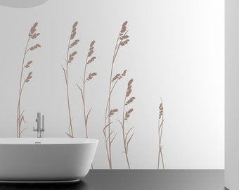 Sea Oats - Vinyl Wall Decal