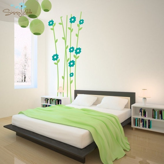 Flower Power - Giant Vinyl Wall Decal