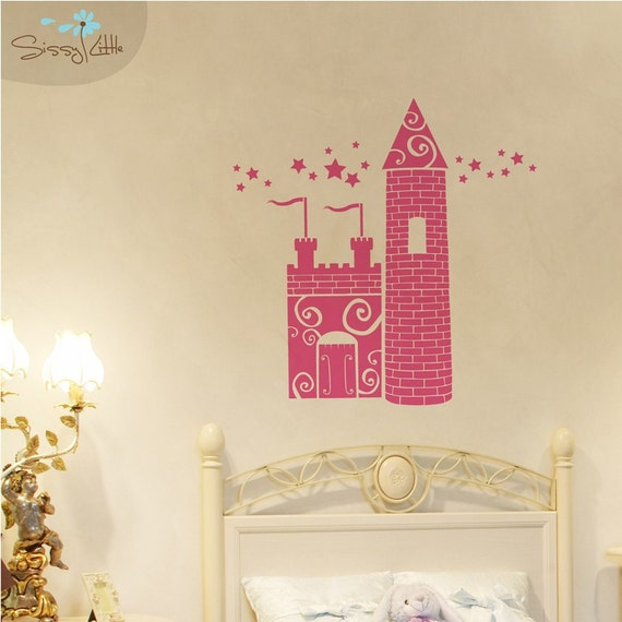 Princess Castle - Vinyl Wall Decal