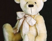 Artist Teddy Bear PDF Sewing Pattern Becky
