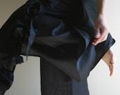 Linen Skirt Pants/Trousers by NervousWardrobe on Etsy