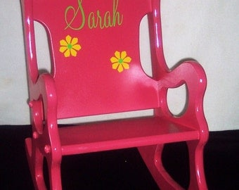 Children's Rocking Chair - Pink