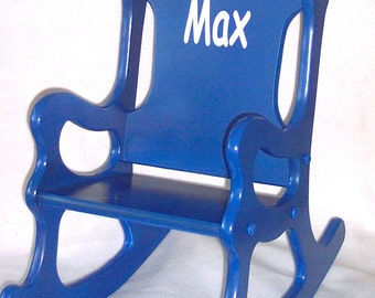 Children's Rocking Chair - Blue