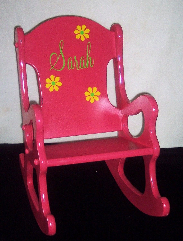 Childrens Rocking Chair Pink
