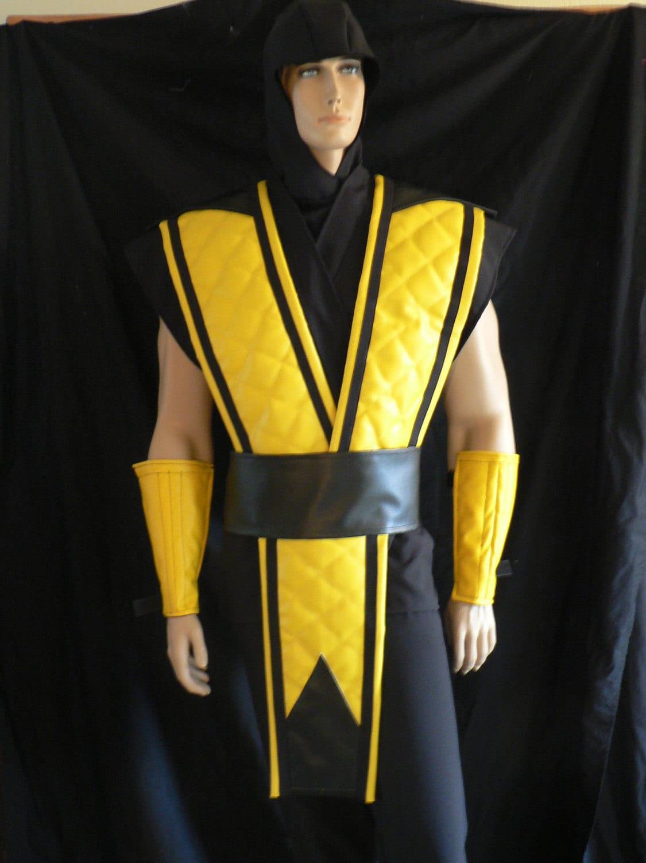 Mortal Kombat Costume Scorpion Custom Made by ...
