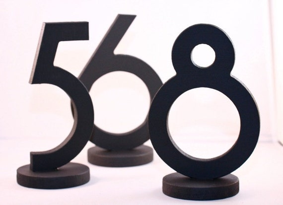 Wedding Table Numbers for Weddings and Events Wedding Decor for Wedding Table Numbers, Wedding Signs, SET OF 1-20 (Item - NUM120)