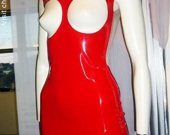 Dress Club Mini pvc red