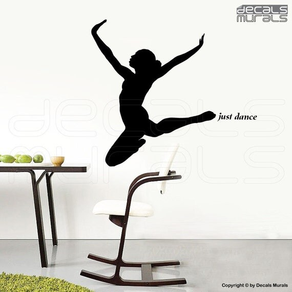 Wall Decals Just Dance Dancer