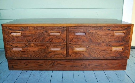 SALE Danish Modern Rosewood Chest by Poul Hundevad - RESERVED