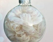 Personalized Elegant Ornament - Baby Keepsake with Gift Box