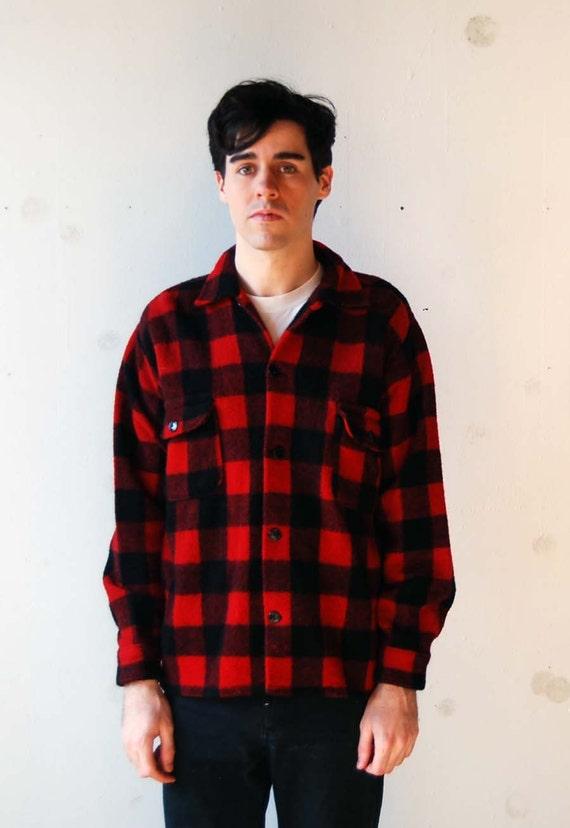 vintage wool plaid shirt