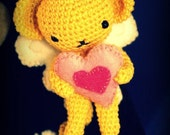 Kero 7cm - Amigurumi Crochet Plush Dolls ( finished doll )