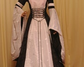 Renaissance wedding dress, handfasting dress, gothic wedding, medieval dress, custom made