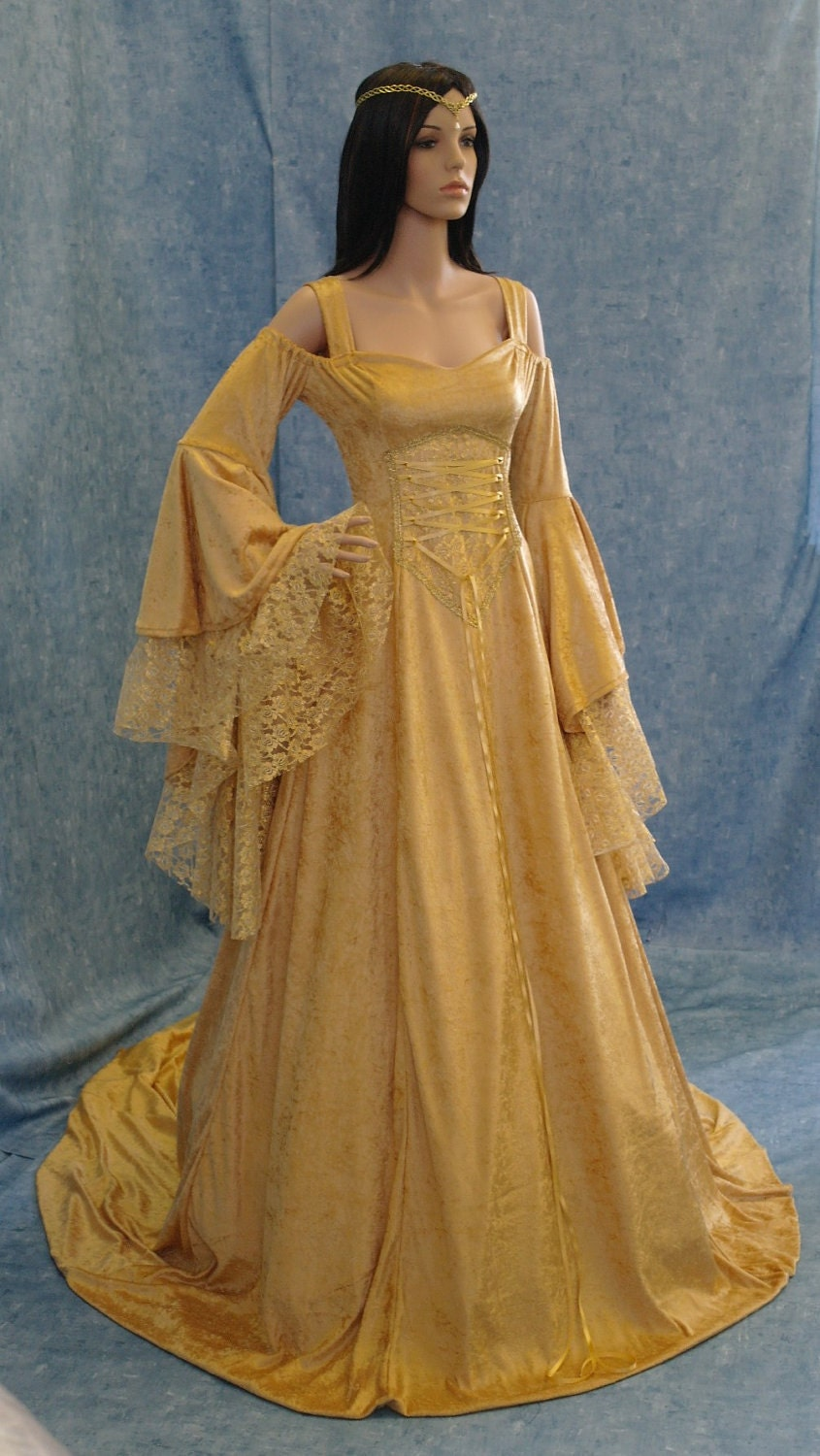 medieval dresses gowns