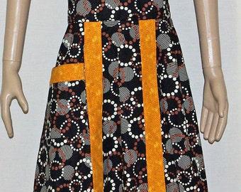 Geometric Modern Apron Dress