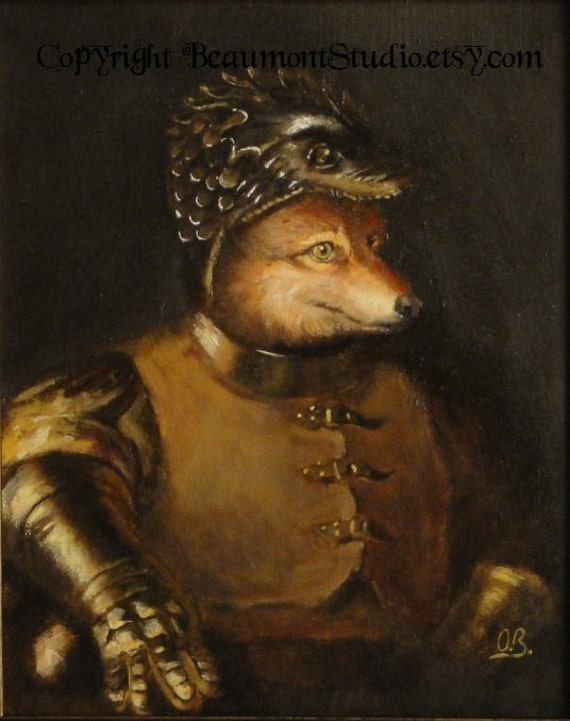 Fox Portrait - Antigonus the One-Eyed - Photo Print 5x7