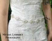 Rhinestone Sash - Crystal Belt - Bridal Belt - Bridal Sash - Crystal Sash - Wedding Sash - Wedding Belt - Prom Belt - Rhinestone Belt -FAIRY