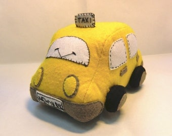 "Instant Digital Download-Pattern PDF DIY"" TAXI car "" sewing"