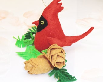 "INSTANT Digital Download -Art Pattern PDF DIY "" Cardinal ""  sewing"