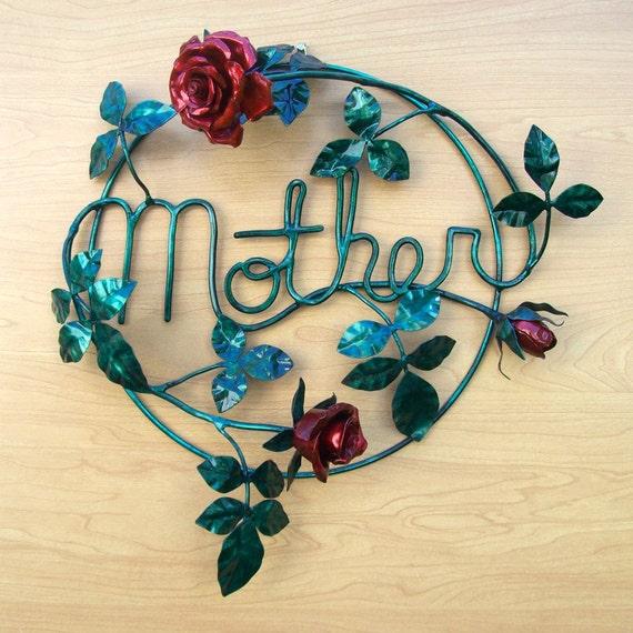 Copper Rose Bush for Mother Metal Sculpture