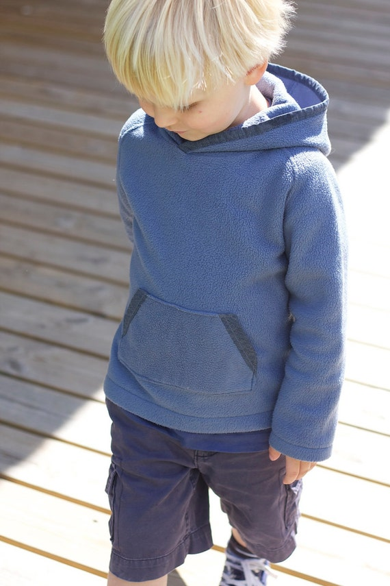 Cosy Kids Fleece, PDF Pattern, Sizes 1 to 8 Years