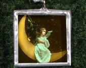 Angel Necklace - Angel Jewelry - with Silver Chain