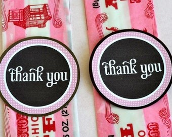 So Girly Baby Shower PRINTABLE Favor Tags by Love The Day