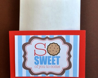 Milk and Cookie Party PRINTABLE Favor Tags (INSTANT DOWNLOAD) by Love The Day